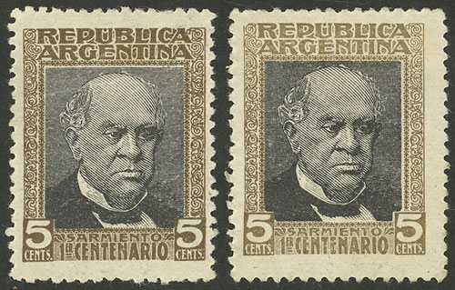 Lot 306 - Argentina general issues -  Guillermo Jalil - Philatino Auction # 2112 ARGENTINA: Auction with interesting lots at budget prices!