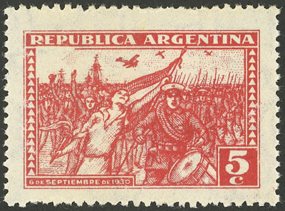 Lot 445 - Argentina general issues -  Guillermo Jalil - Philatino Auction # 2112 ARGENTINA: Auction with interesting lots at budget prices!