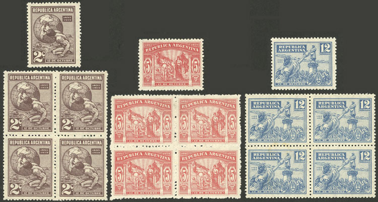 Lot 435 - Argentina general issues -  Guillermo Jalil - Philatino Auction # 2112 ARGENTINA: Auction with interesting lots at budget prices!