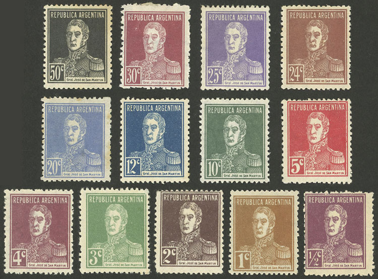 Lot 412 - Argentina general issues -  Guillermo Jalil - Philatino Auction # 2112 ARGENTINA: Auction with interesting lots at budget prices!