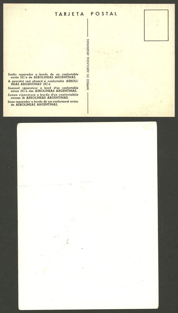 Lot 1579 - Argentina postal history -  Guillermo Jalil - Philatino Auction # 2112 ARGENTINA: Auction with interesting lots at budget prices!