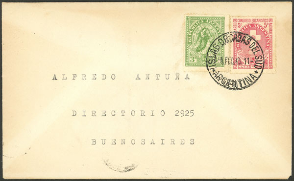 Lot 21 - ARGENTINE ANTARCTICA - ISLAS ORCADAS postal history -  Guillermo Jalil - Philatino Auction # 2112 ARGENTINA: Auction with interesting lots at budget prices!