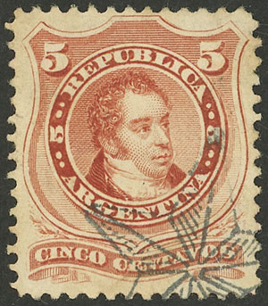 Lot 87 - Argentina general issues -  Guillermo Jalil - Philatino Auction # 2112 ARGENTINA: Auction with interesting lots at budget prices!