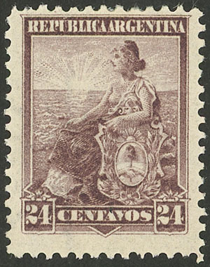 Lot 266 - Argentina general issues -  Guillermo Jalil - Philatino Auction # 2112 ARGENTINA: Auction with interesting lots at budget prices!