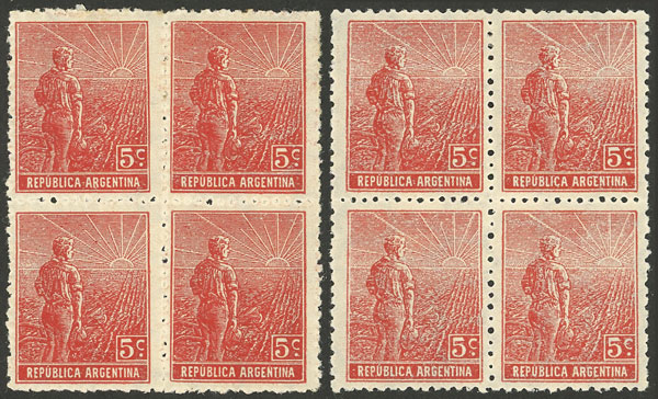 Lot 335 - Argentina general issues -  Guillermo Jalil - Philatino Auction # 2112 ARGENTINA: Auction with interesting lots at budget prices!