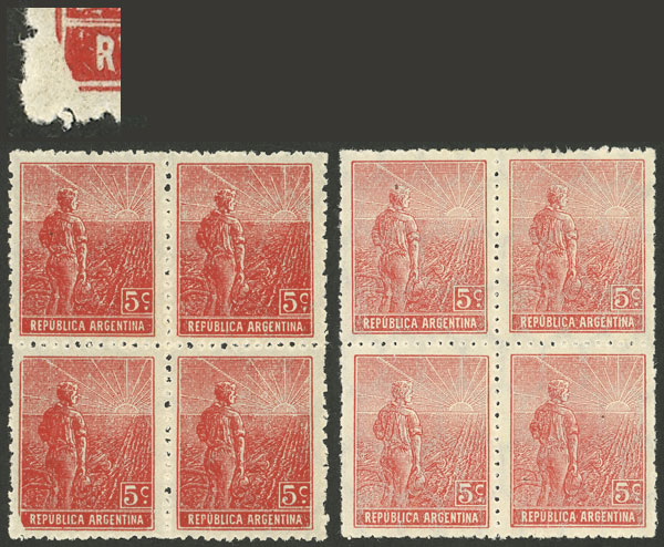 Lot 325 - Argentina general issues -  Guillermo Jalil - Philatino Auction # 2112 ARGENTINA: Auction with interesting lots at budget prices!