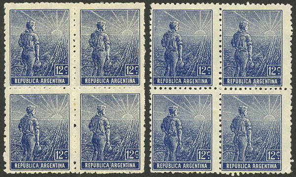 Lot 330 - Argentina general issues -  Guillermo Jalil - Philatino Auction # 2112 ARGENTINA: Auction with interesting lots at budget prices!
