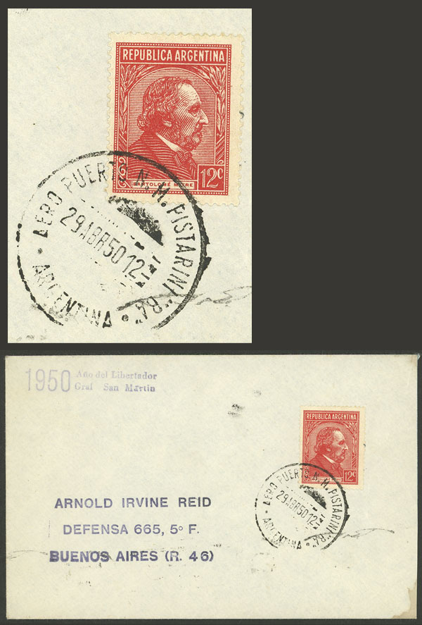 Lot 1534 - Argentina postal history -  Guillermo Jalil - Philatino Auction # 2112 ARGENTINA: Auction with interesting lots at budget prices!
