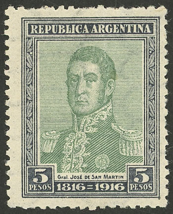 Lot 351 - Argentina general issues -  Guillermo Jalil - Philatino Auction # 2112 ARGENTINA: Auction with interesting lots at budget prices!