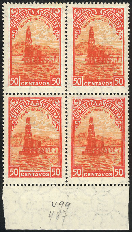 Lot 481 - Argentina general issues -  Guillermo Jalil - Philatino Auction # 2112 ARGENTINA: Auction with interesting lots at budget prices!