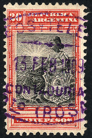Lot 261 - Argentina general issues -  Guillermo Jalil - Philatino Auction # 2112 ARGENTINA: Auction with interesting lots at budget prices!