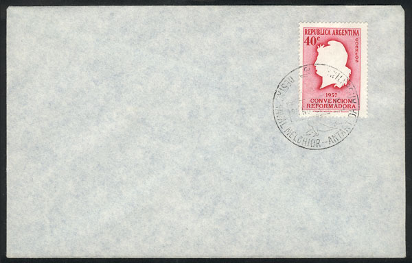 Lot 4 - argentine antarctica postal history -  Guillermo Jalil - Philatino Auction # 2112 ARGENTINA: Auction with interesting lots at budget prices!