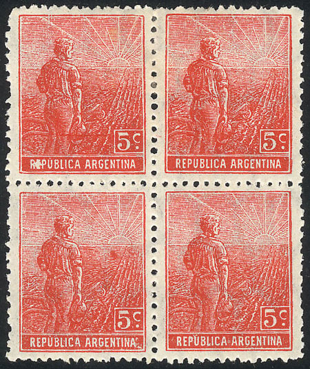 Lot 326 - Argentina general issues -  Guillermo Jalil - Philatino Auction # 2112 ARGENTINA: Auction with interesting lots at budget prices!