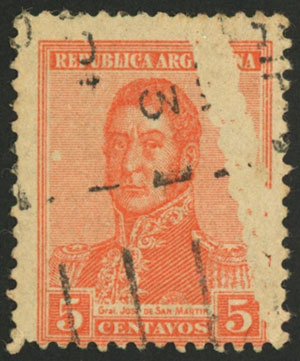 Lot 222 - Argentina general issues -  Guillermo Jalil - Philatino Auction # 2113 ARGENTINA: