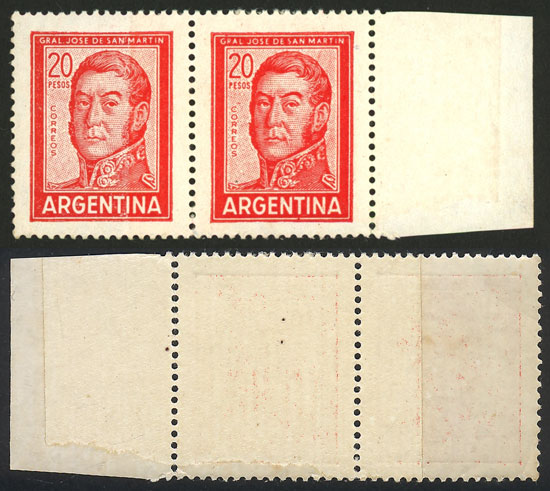 Lot 510 - Argentina general issues -  Guillermo Jalil - Philatino Auction # 2113 ARGENTINA:
