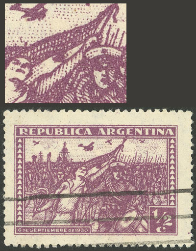 Lot 281 - Argentina general issues -  Guillermo Jalil - Philatino Auction # 2113 ARGENTINA: