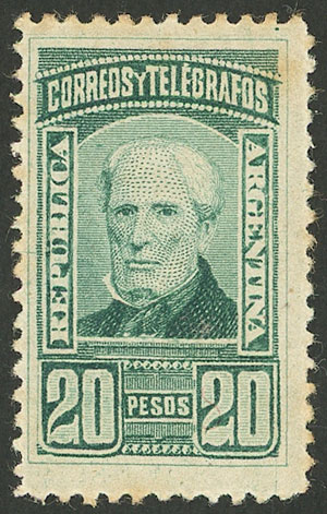 Lot 110 - Argentina general issues -  Guillermo Jalil - Philatino Auction # 2113 ARGENTINA: