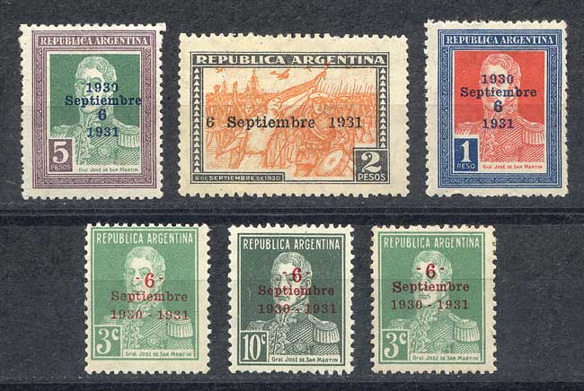 Lot 291 - Argentina general issues -  Guillermo Jalil - Philatino Auction # 2113 ARGENTINA: