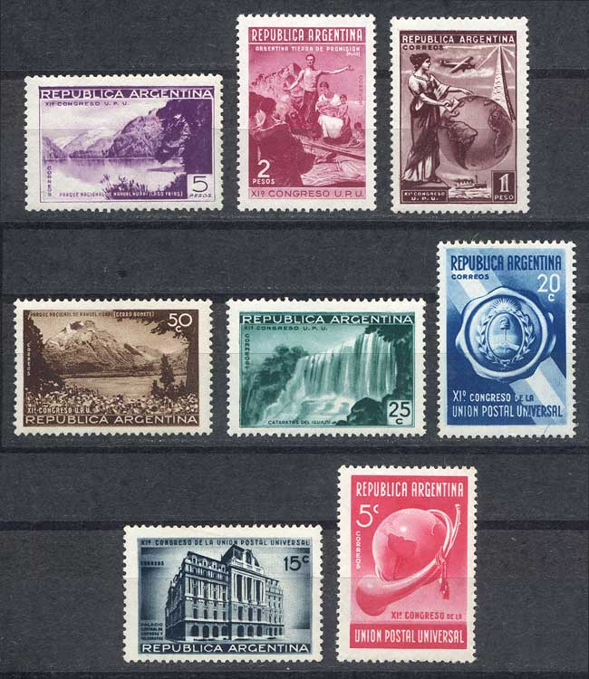 Lot 330 - Argentina general issues -  Guillermo Jalil - Philatino Auction # 2113 ARGENTINA: