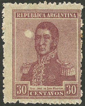 Lot 226 - Argentina general issues -  Guillermo Jalil - Philatino Auction # 2113 ARGENTINA: