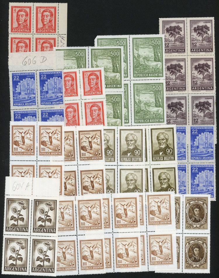 Lot 998 - Argentina Lots and Collections -  Guillermo Jalil - Philatino Auction # 2113 ARGENTINA:
