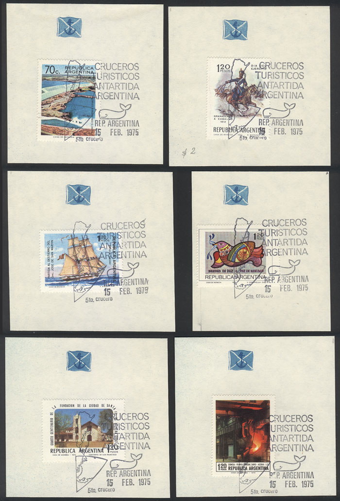 Lot 972 - Argentina postal history -  Guillermo Jalil - Philatino Auction # 2113 ARGENTINA: