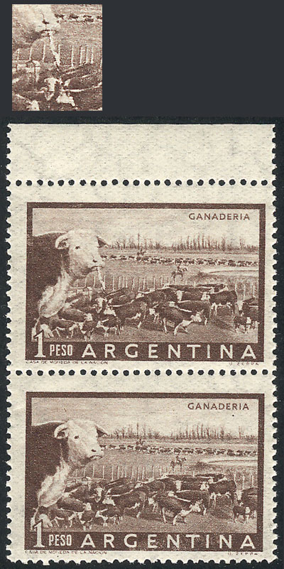Lot 428 - Argentina general issues -  Guillermo Jalil - Philatino Auction # 2113 ARGENTINA: