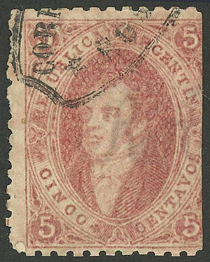Lot 69 - Argentina rivadavias -  Guillermo Jalil - Philatino Auction # 2116 ARGENTINA:
