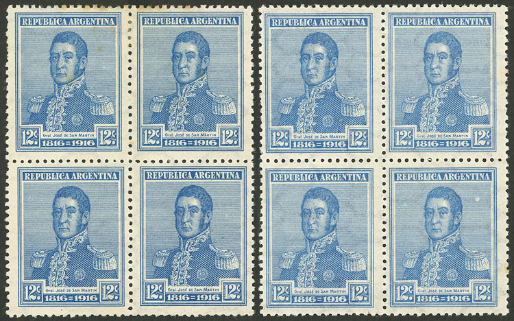 Lot 424 - Argentina general issues -  Guillermo Jalil - Philatino Auction # 2116 ARGENTINA: