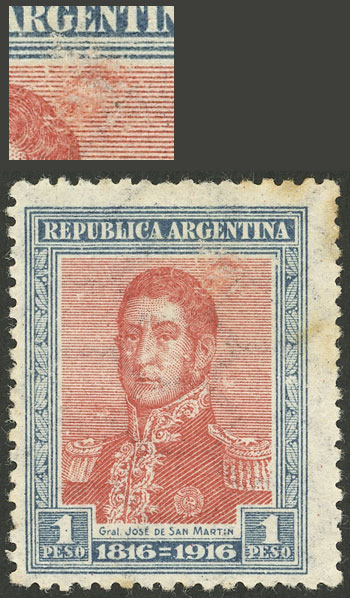 Lot 437 - Argentina general issues -  Guillermo Jalil - Philatino Auction # 2116 ARGENTINA: