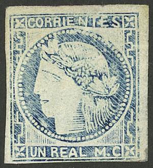 Lot 39 - Argentina corrientes -  Guillermo Jalil - Philatino Auction # 2116 ARGENTINA: