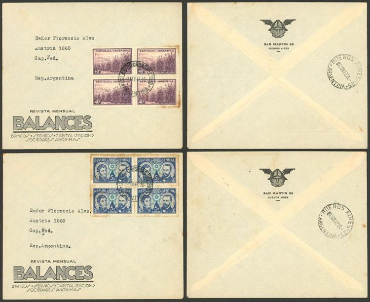 Lot 14 - ARGENTINE ANTARCTICA - ISLAS ORCADAS postal history -  Guillermo Jalil - Philatino Auction # 2116 ARGENTINA: