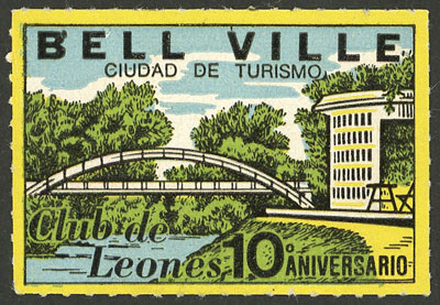 Lot 2028 - Argentina cinderellas -  Guillermo Jalil - Philatino Auction # 2116 ARGENTINA:
