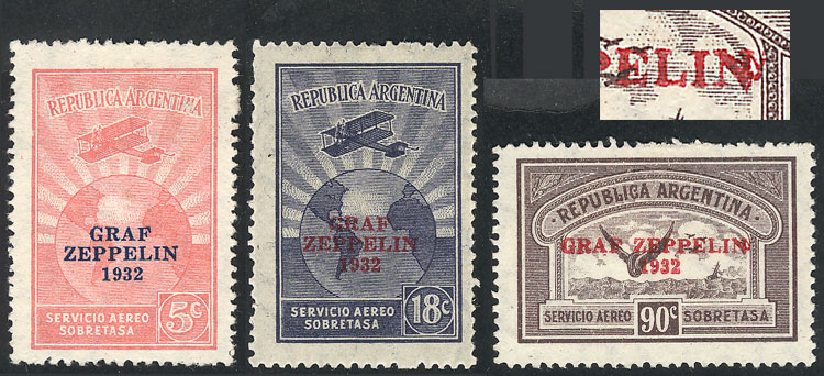 Lot 1397 - Argentina airmail -  Guillermo Jalil - Philatino Auction # 2116 ARGENTINA:
