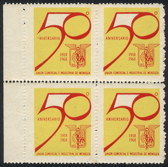 Lot 2036 - Argentina cinderellas -  Guillermo Jalil - Philatino Auction # 2116 ARGENTINA: