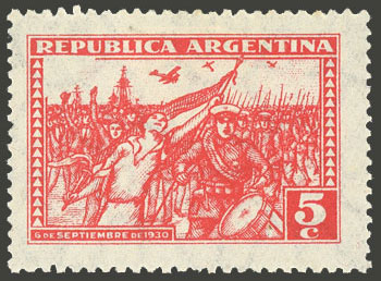 Lot 417 - Argentina general issues -  Guillermo Jalil - Philatino Auction # 2117 ARGENTINA: small but very attractive auction
