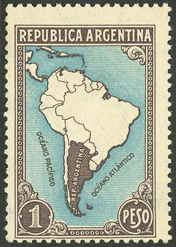 Lot 472 - Argentina general issues -  Guillermo Jalil - Philatino Auction # 2117 ARGENTINA: small but very attractive auction