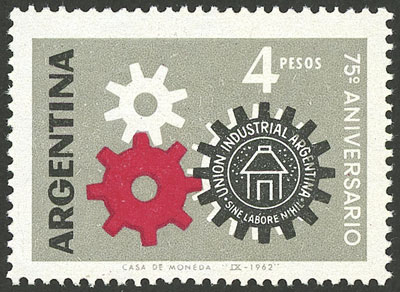 Lot 858 - Argentina general issues -  Guillermo Jalil - Philatino Auction # 2117 ARGENTINA: small but very attractive auction