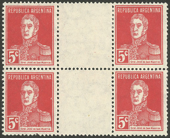 Lot 374 - Argentina general issues -  Guillermo Jalil - Philatino Auction # 2117 ARGENTINA: small but very attractive auction