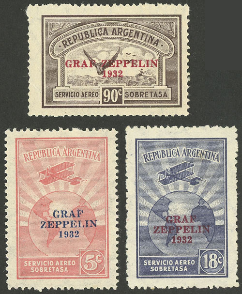 Lot 428 - Argentina general issues -  Guillermo Jalil - Philatino Auction # 2117 ARGENTINA: small but very attractive auction