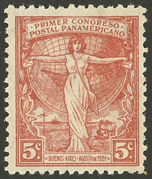 Lot 347 - Argentina general issues -  Guillermo Jalil - Philatino Auction # 2117 ARGENTINA: small but very attractive auction