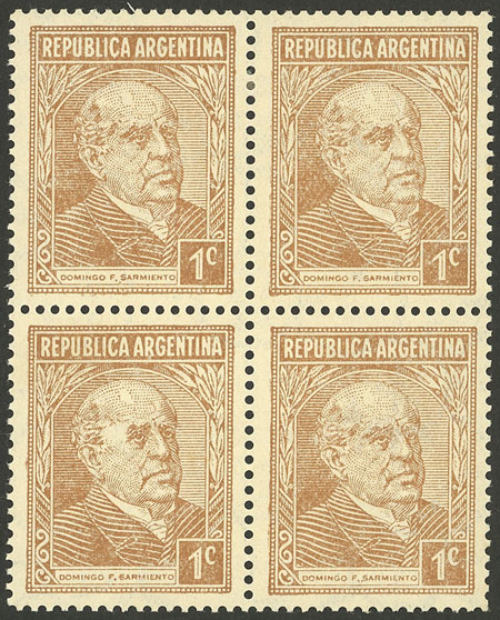Lot 501 - Argentina general issues -  Guillermo Jalil - Philatino Auction # 2117 ARGENTINA: small but very attractive auction