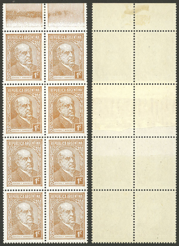 Lot 510 - Argentina general issues -  Guillermo Jalil - Philatino Auction # 2117 ARGENTINA: small but very attractive auction