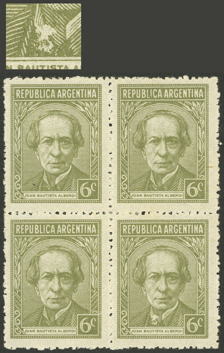 Lot 526 - Argentina general issues -  Guillermo Jalil - Philatino Auction # 2117 ARGENTINA: small but very attractive auction