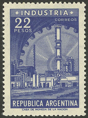 Lot 825 - Argentina general issues -  Guillermo Jalil - Philatino Auction # 2117 ARGENTINA: small but very attractive auction