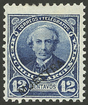 Lot 117 - Argentina general issues -  Guillermo Jalil - Philatino Auction # 2117 ARGENTINA: small but very attractive auction