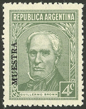 Lot 454 - Argentina general issues -  Guillermo Jalil - Philatino Auction # 2117 ARGENTINA: small but very attractive auction