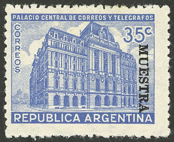 Lot 627 - Argentina general issues -  Guillermo Jalil - Philatino Auction # 2117 ARGENTINA: small but very attractive auction
