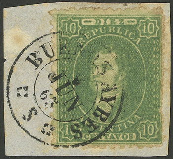 Lot 40 - Argentina rivadavias -  Guillermo Jalil - Philatino Auction # 2117 ARGENTINA: small but very attractive auction