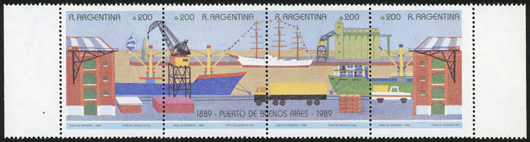 Lot 1136 - Argentina general issues -  Guillermo Jalil - Philatino Auction # 2117 ARGENTINA: small but very attractive auction